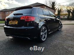 Audi S3 SPORTBACK 2.0 TFSI QUATTRO BLACK EDITION 5d 265 BHP