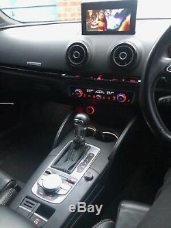 Audi S3 Saloon Quattro 370+BHP / APR Stage 1 / Panther Black / HUGE SPEC! PX