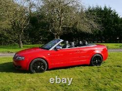 Audi S4 4.2 Quattro V8 Manual 330 Bhp Red Totally Stunning Beast Collectors Car