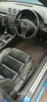 Audi S4 Quattro Convertible 2004 4.2 V8 Stage 1 365 bhp FSH