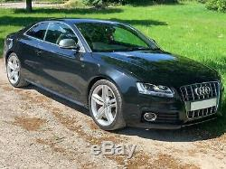Audi S5 in stunning Black with Black Leather and 4.2L (349 BHP) 12 Month MOT