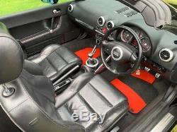 Audi TT 1.8 Quattro 225BHP convertible manual Petrol black