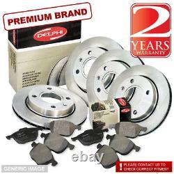 Audi TT 1.8 Quattro Front & Rear Brake Pads Discs Set 312mm 256mm 221BHP 98- CC