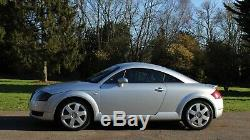 Audi TT 1.8T Quattro 225bhp! FSH! 95k, Number Plate Inc