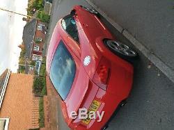 Audi TT 1.8t 225bhp Quattro 2003 Red 6 speed manual