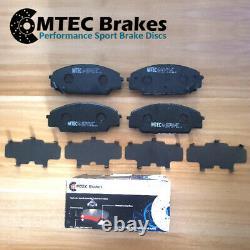 Audi TT 2.0 TFSi 2.0 TFSi Quattro 230bhp 14- Front Rear Brake Discs Pads MTEC