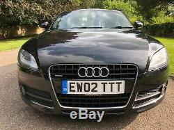 Audi TT 3.2 Quattro Manual 250bhp Black 2007 TT Plate! SUPERB