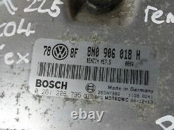 Audi TT 8N 2001-2006 MK1 225 Quattro 1.8T BAM Engine ECU REMAP 262BHP 8N0906018H