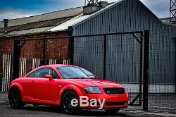 Audi TT Coupe 1.8T 225bhp 2001 Quattro 4x4 Misano Red Coupe 4WD (BOSE)