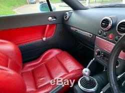 Audi TT MK1 225BHP Quattro BAM red interior 1.8t Mapped 1000's SPENT 2003