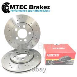 Audi TT MK2 2.0T FSI TTS Quattro 270bhp 05/08-06/15 Front Brake Discs & Pads