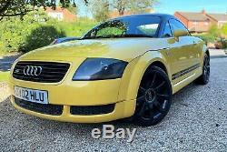 Audi TT Quattro 180bhp Coupe in Stunning Yellow with Metallic Black roof