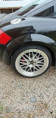 Audi TT Quattro 225 bhp Bam Engine 2002 Black Coupe