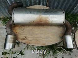 Audi TT Quattro 225 bhp MK1 BAM Twin Exhaust Rear Box and middle section JETEX