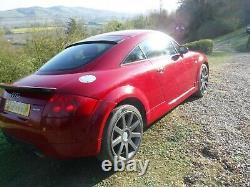Audi TT Quattro coupe (225bhp) 2001, red, 121,450 miles, petrol, manual