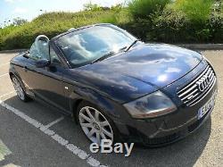 Audi Tt Convertible/roadster Quattro 225 Bhp Bam Engine. Moro Blue P/x