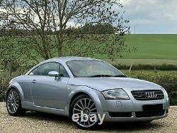 Audi Tt Mk1 225 Bhp Quattro Petrol Manual 3dr Coupe 2003 03 Avus Silver