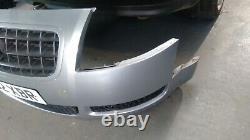 Audi Tt Mk1 Front Bumper Avus Silver Ly7j (180bhp Model 8n Quattro 98-06)