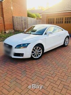 Audi Tt Sport Quattro White 2011 Lady Owner Diesel Manual 170 Bhp