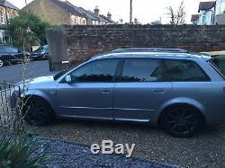 Audi quattro 1.8t a4 b6 bfb 163 Bhp Ltd Ed 54 PLATE all GOOD! Engine NEW PHOTOS
