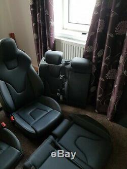 Audi rs4 b8 front and rear seats