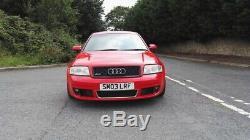 Audi rs6 Quattro 4.2 biturbo 450bhp 2003 full audi service history 11 mo