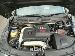 Audi tt 225 quattro 320bhp hybrid turbo forged bam engine