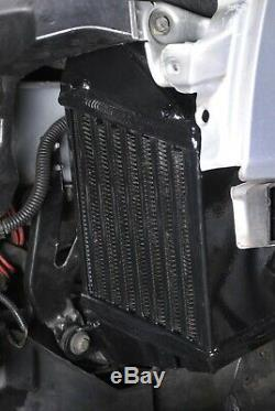 BLACK ALUMINIUM ALLOY SIDE MOUNT INTERCOOLER SMIC AUDI TT 1.8T QUATTRO 225bhp