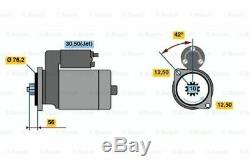 BOSCH 0 001 121 026 Starter für VW AUDI SEAT