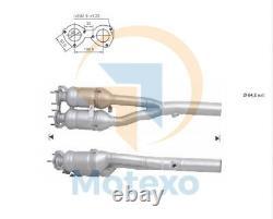 Catalytic Converter AUDI TT Quattro 1.8i Turbo 224 bhp BAM 9/006/06