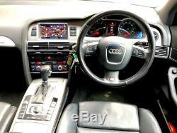 Clean 2006 Audi A6 S Line 3.0 Tdi Quattro Avant Estate Auto Silver 232 Bhp
