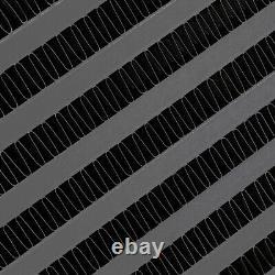 DIRENZA BLACK ALUMINIUM SIDE MOUNT INTERCOOLER SMIC AUDI TT 1.8T QUATTRO 225bhp