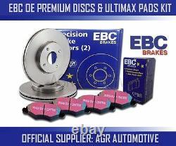 EBC FRONT DISCS AND PADS 340mm FOR AUDI TT QUATTRO 3.2 250 BHP 2006-10