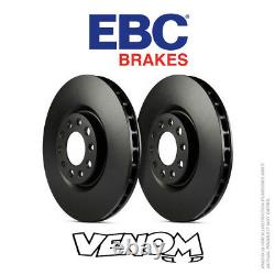 EBC OE Front Brake Discs 340mm for Audi TT Mk2 Quattro 8J 3.2 250bhp 06-10 D1606