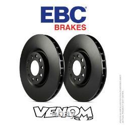EBC OE Rear Brake Discs 356mm for Audi A8 Quattro D4/4H 4.2 TD 380bhp 13- D1848
