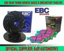 EBC REAR GD DISCS GREENSTUFF PADS 300mm FOR AUDI A5 QUATTRO 3.0 TD 245 BHP 2011
