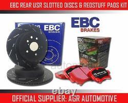 EBC REAR USR DISCS REDSTUFF PADS 310mm FOR AUDI TT QUATTRO 3.2 250 BHP 2006-10