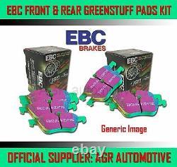 Ebc Greenstuff Front Rear Pads Kit For Audi Tt Quattro 1.8 Turbo 225 Bhp 1998-06
