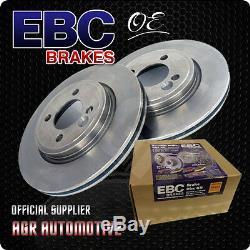 Ebc Premium Oe Front Discs D1153 For Audi Tt Quattro 3.2 250 Bhp 2003-06