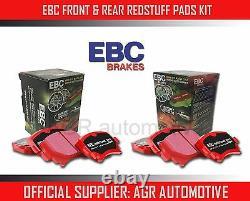 Ebc Redstuff Front + Rear Pads Kit For Audi Tt Quattro 3.2 250 Bhp 2006-10