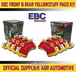 Ebc Yellowstuff Front + Rear Pads Kit For Audi Tt Quattro 3.2 250 Bhp 2003-06