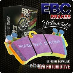 Ebc Yellowstuff Rear Pads Dp41988r For Audi A5 Quattro 3.0 Td 245 Bhp 2011