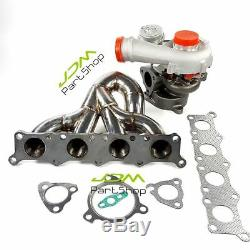Exhaust Manifold Header + turbo K04-023 for Audi A3 S3 TT 210 225 Seat Leon 1.8R