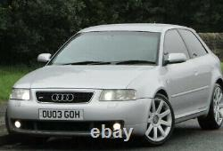 Face Lift2003 Audi S3 1.8t Quattro 3dr Stage 1 Remap 250 Bhp++modified++
