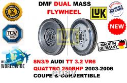 For 8n3/9 Audi Tt 3.2 Vr6 Quattro 250bhp 2003-2006 New Dual Mass Dmf Flywheel
