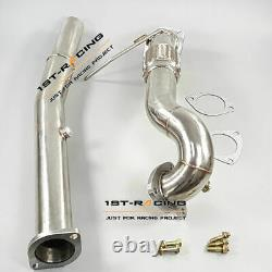 For Audi A3 TT Quattro S3 Mk1 TYP 8N 1.8T 225BHP Turbo Decat Downpipe Stainless