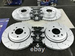 For Audi Tt Mk2 2.0t Fsi Tts Quattro 270bhp Front & Rear Brake Discs & Pads