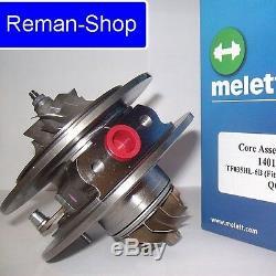 Genuine Melett UK turbocharger cartridge Audi RS 4 V6 Biturbo 380 bhp