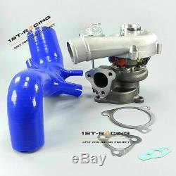 K04-023 Turbo + Silicone Inlet Air Intake Pipe FOR Audi TT S3 1.8T 210/225HP
