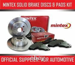 MINTEX REAR DISCS AND PADS 300mm FOR AUDI A5 QUATTRO 2.0 TURBO 208 BHP 2008